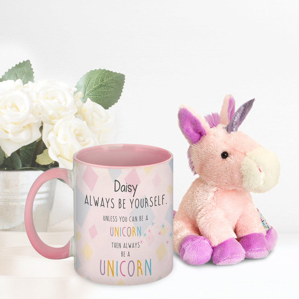 Unicorn Mug & Plush