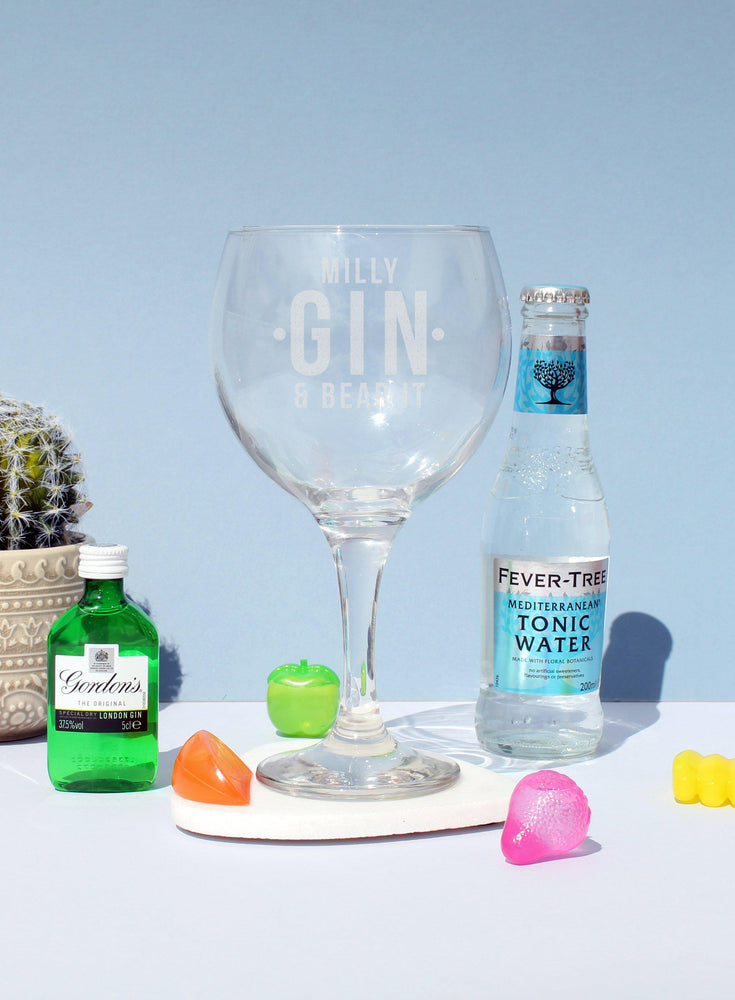 Gin and Bear It Balloon Gift Set