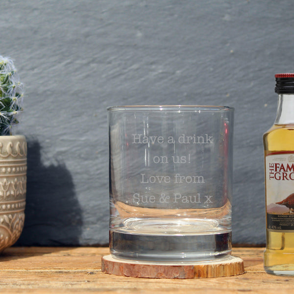 Famous Grouse & Tumbler Gift Set - Have A Drink On Us