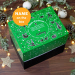 Personalised - 12 Days of Christmas Gift Box - Beer