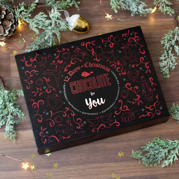 Non Personalised 12 Days of Christmas Gift Box - Truffle
