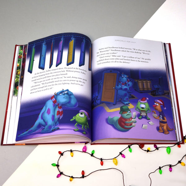 Personalised Disney Christmas Collection Book - Monsters Inc Story Pages