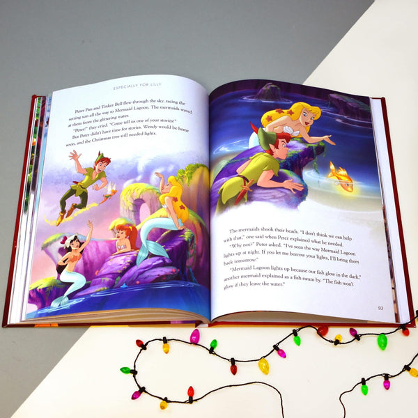 Personalised Disney Christmas Collection Book -  Peter Pan Story Pages
