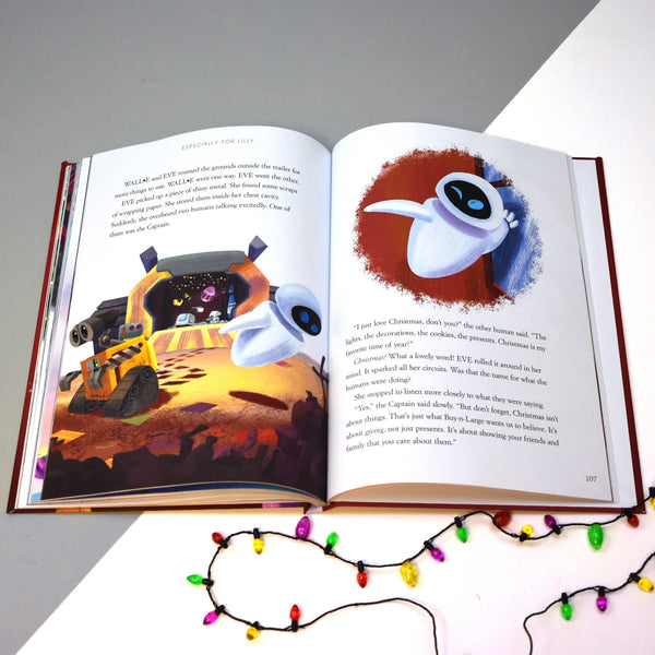 Personalised Disney Christmas Collection Book -  Wall-E Story Pages