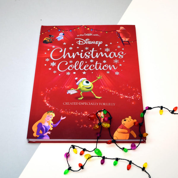Personalised Disney Christmas Collection Book - Covered In Christmas Lights