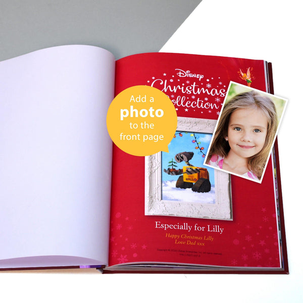 Personalised Disney Christmas Collection Book - Add A Photo To The Front Page