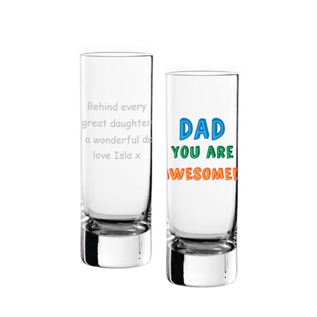 Dad You Are…. Shot Glass - 3v3rythinguneed
