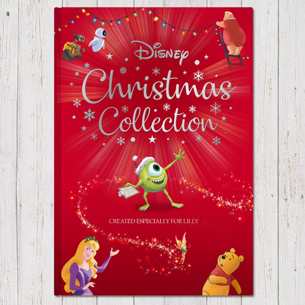 Personalised Disney Christmas Collection Book -  Text Reads Created Especially For Lilly