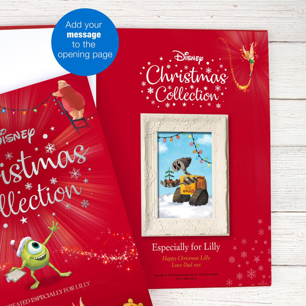 Personalised Disney Christmas Collection Book -  Add Personal Message To The Opening Front Page