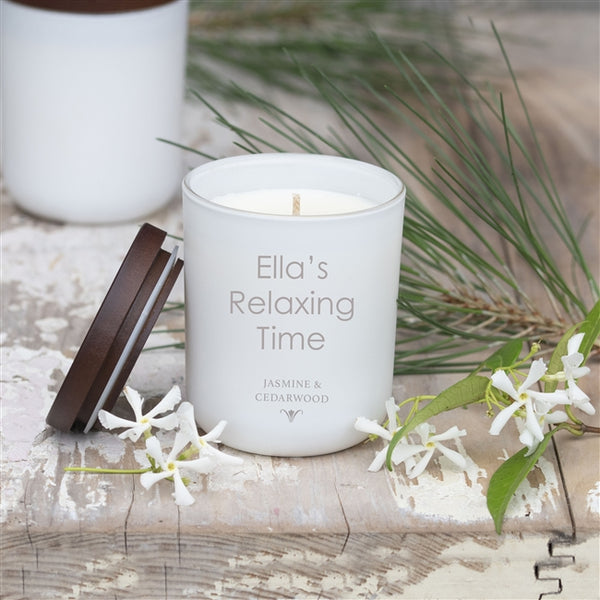 Large Personalised Candle - A luxury candle made from 100% natural and sustainable soy wax