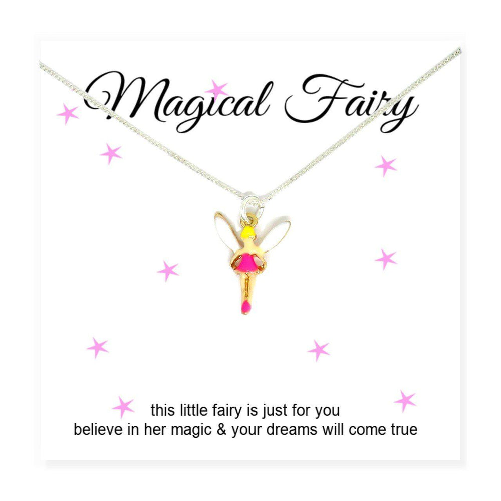 Magical Fairy Necklace & Card