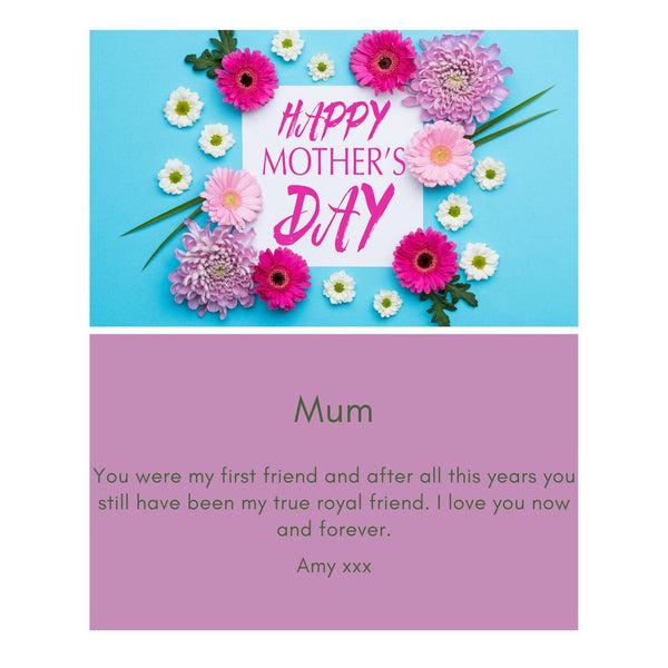 Mother's Day Message Card - A6