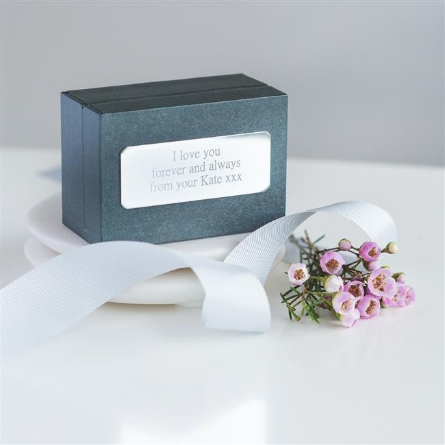 My Soulmate Cufflinks Personalised Gift Box