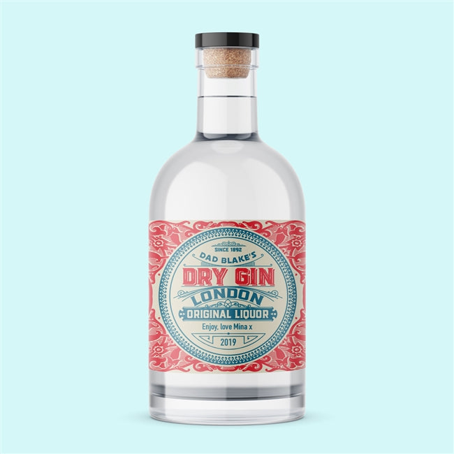 Personalised Botanical Gin