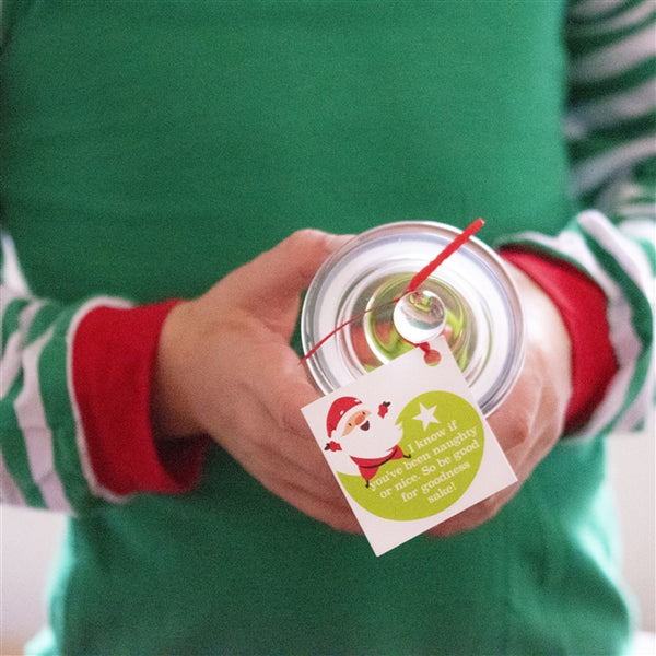 Personalised Naughty & Nice Jar - Comes Complete With A Tagged Naughty Or Nice Message From Santa