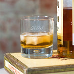 Personalised Script Whisky Tumbler - Engraved With The Recipients Initials