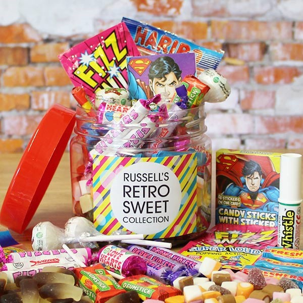 RETRO SWEET TASTER JAR