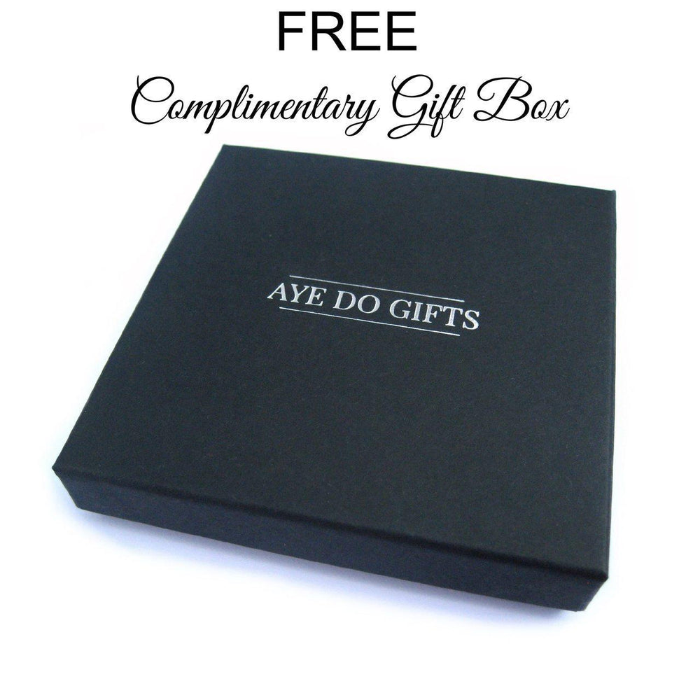 Silver Knot Bangle - Gift Box