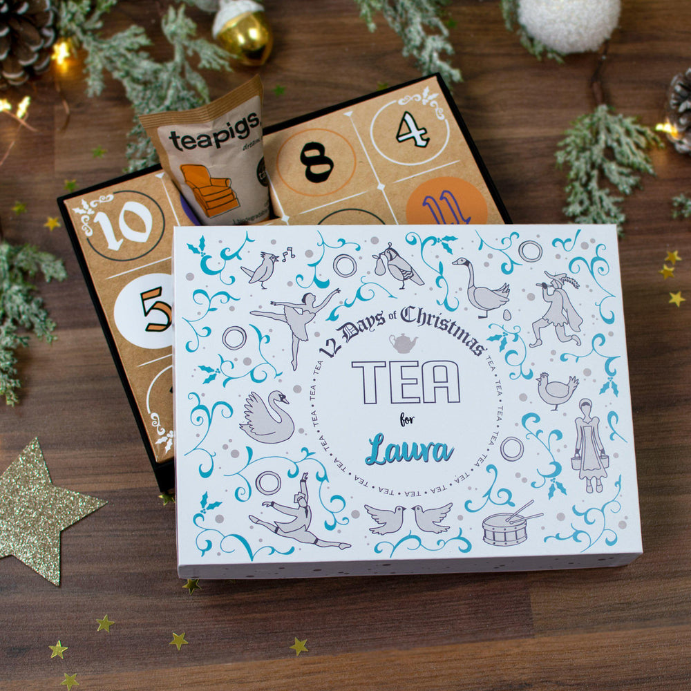 12 Days of Christmas Gift Box - Tea