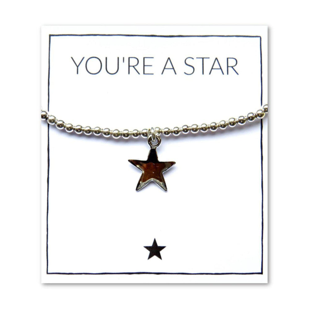 You're A Star Bracelet & Card