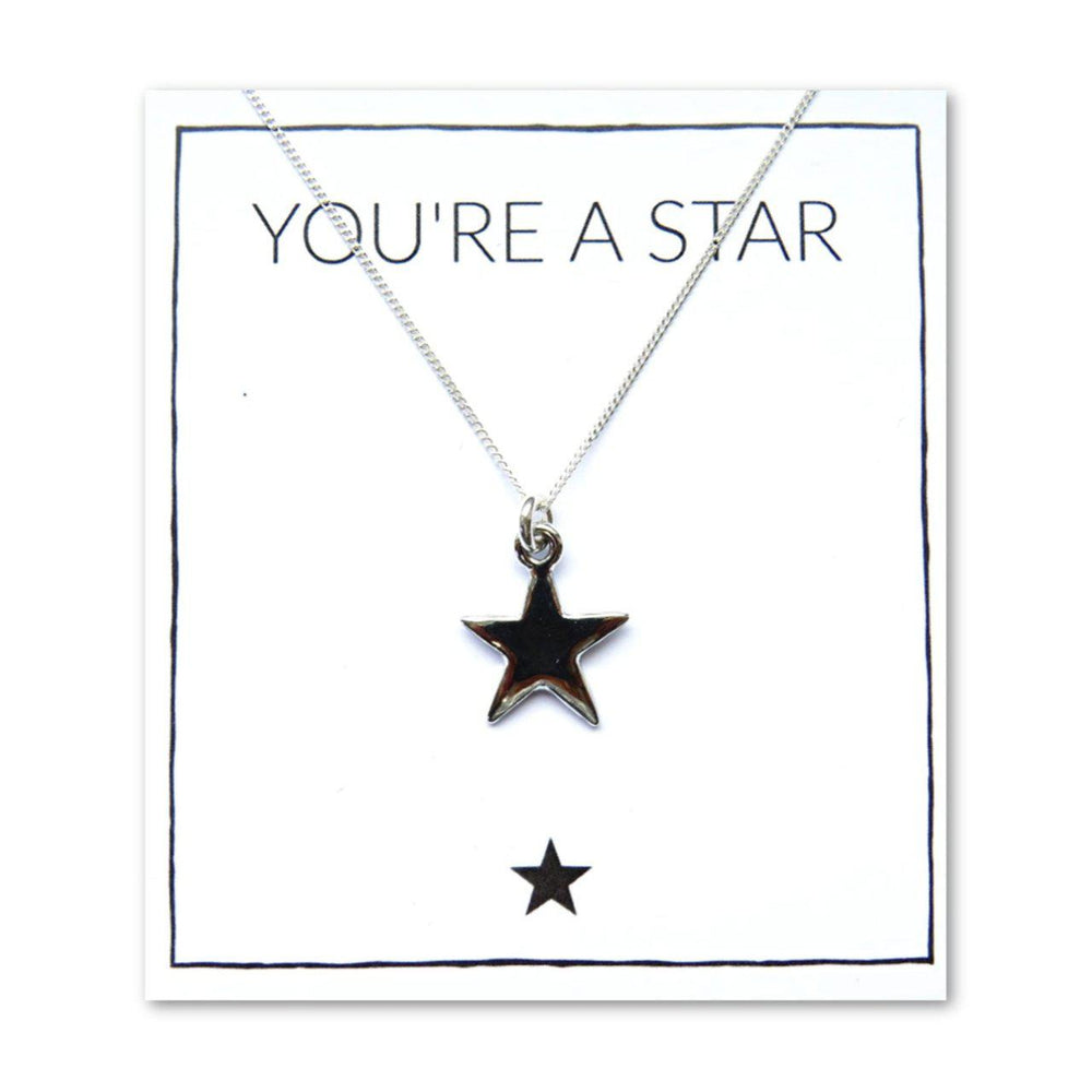 You're A Star Necklace & Card