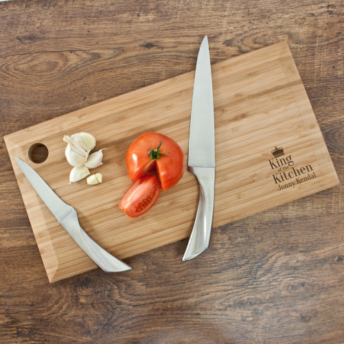 King of the Kitchen Chopping Board