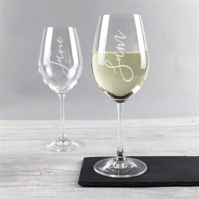Name Wine Glass - 3v3rythinguneed