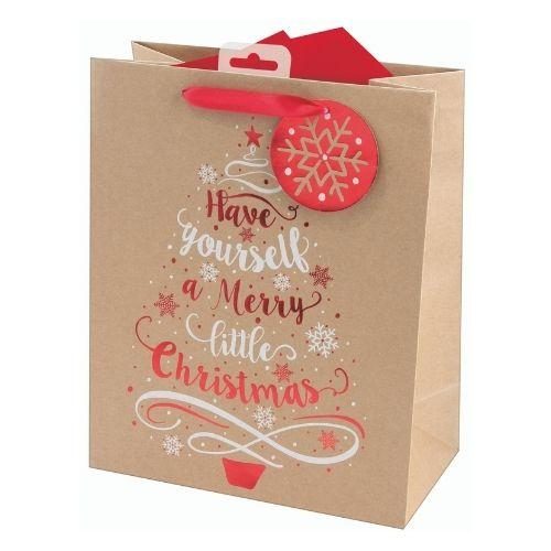 Craft Tree & Text xl Gift Bag