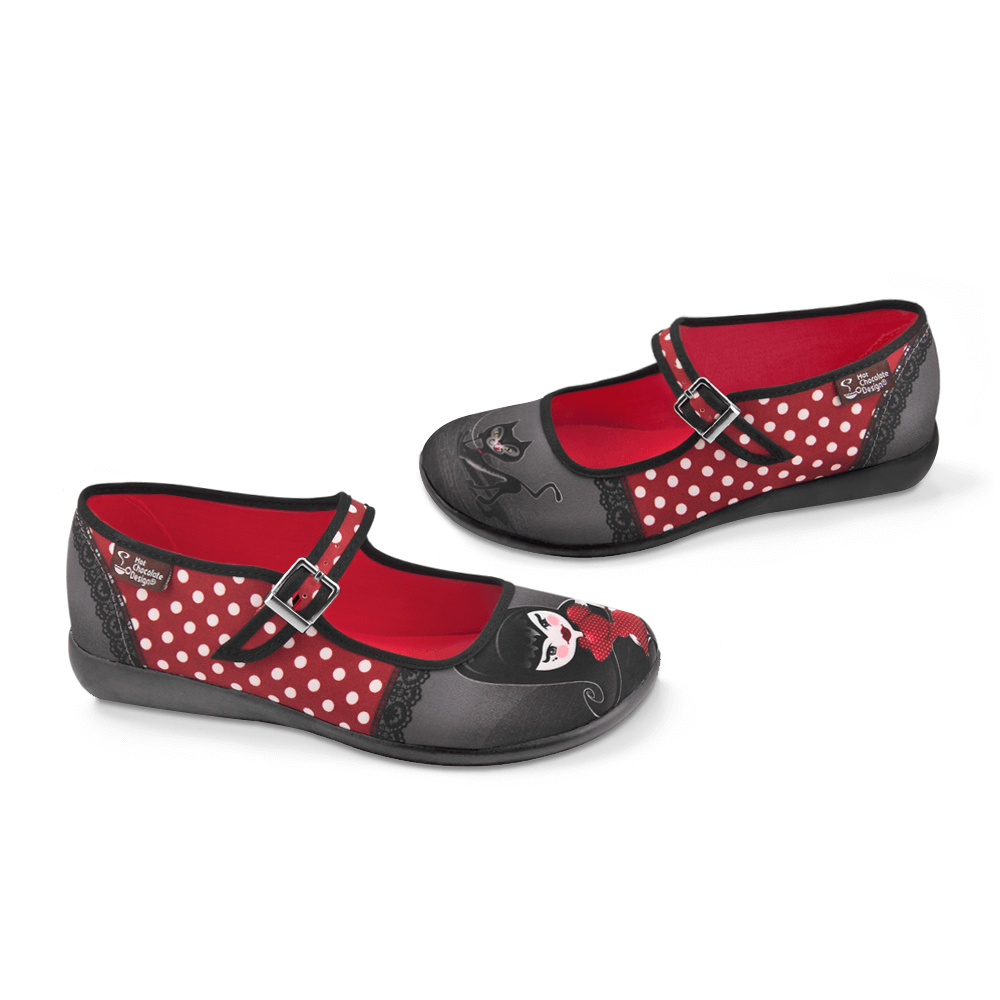 Chocolaticas® Petunia Women's Mary Jane Flat
