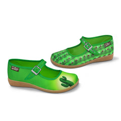 Chocolaticas® Cactus Women's Mary Jane Flat