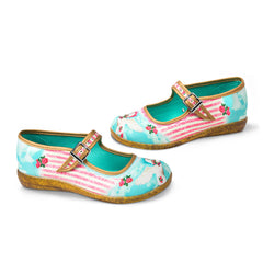 Chocolaticas® Corcel Women's Mary Jane Flat