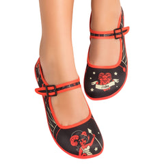 Chocolaticas® Aries Women's Mary Jane Flat