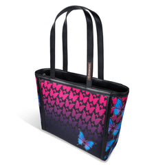 Chocolaticas® Dark Butterfly Women's Tote Bag