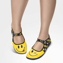 Chocolaticas® Smile Women's Mary Jane Flat
