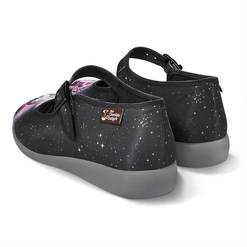 Chocolaticas® Midnight Women's Mary Jane Flat