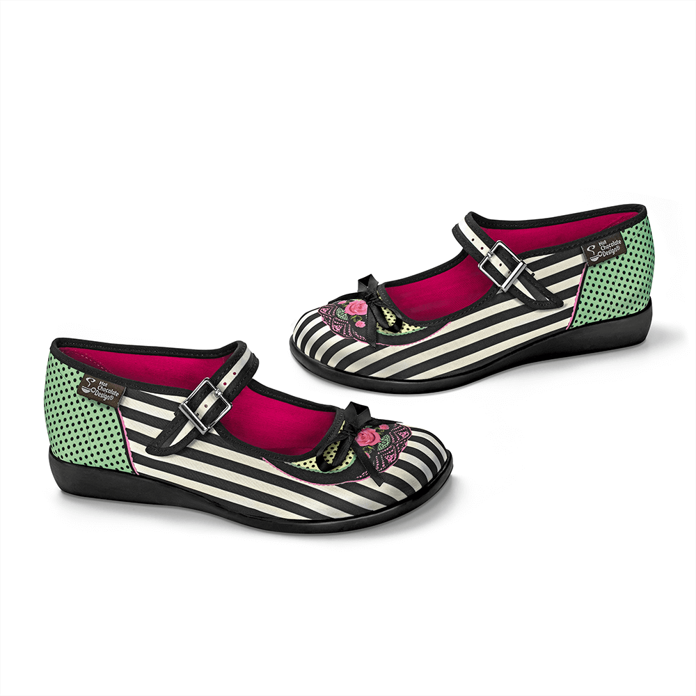 Chocolaticas® Dafne Women's Mary Jane Flat