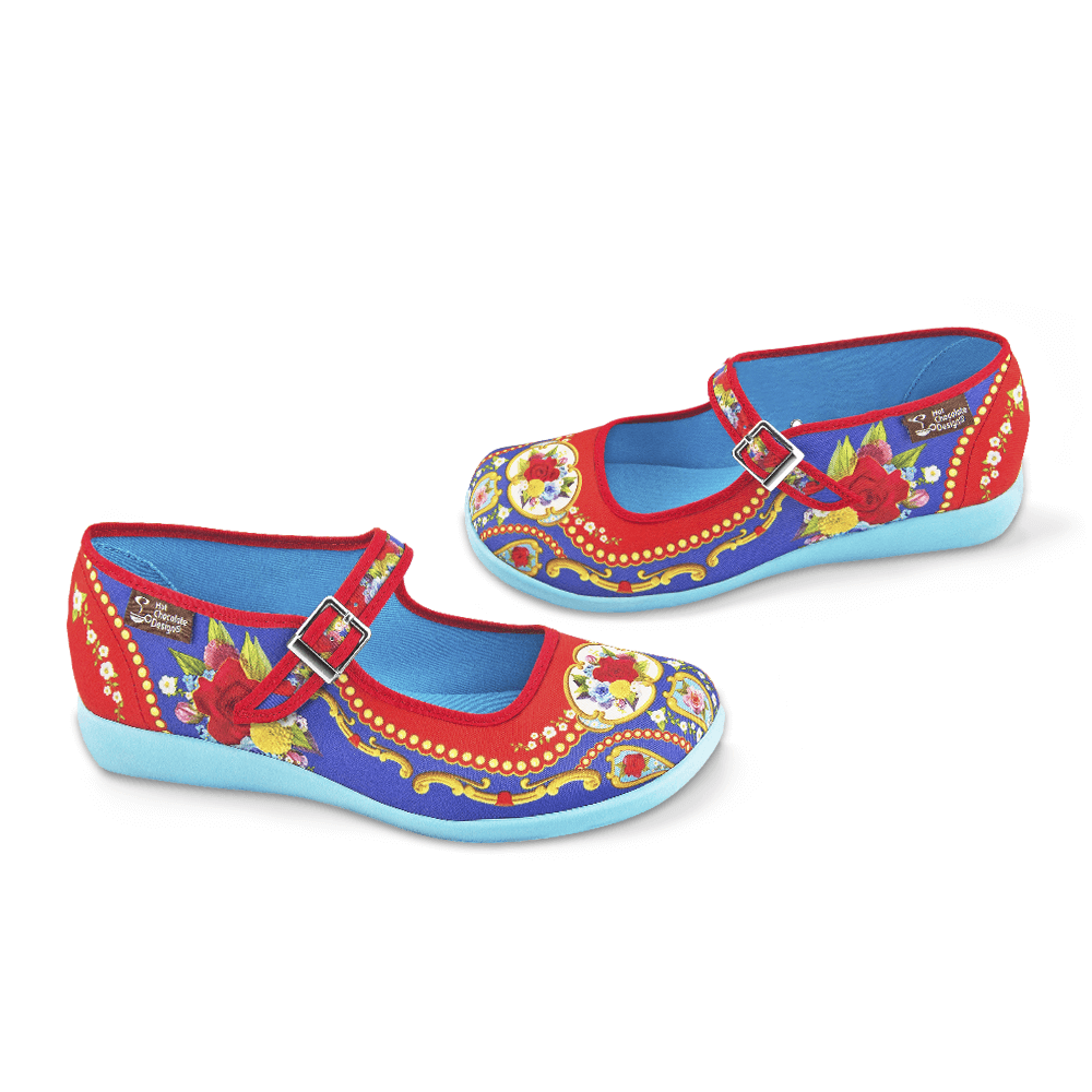 Chocolaticas® Carousel Women's Mary Jane Flat