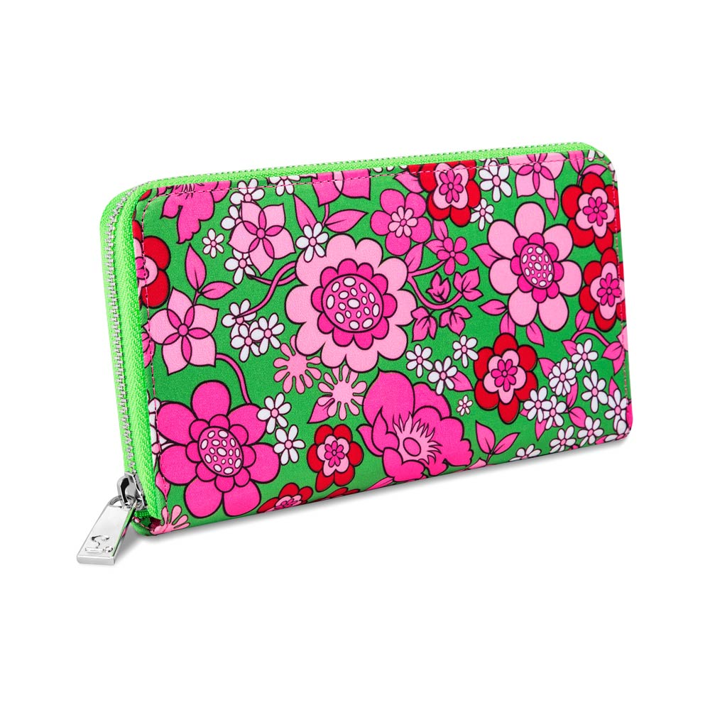 Chocolaticas® Pink Flower Women's Wallet