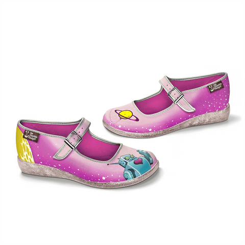 Chocolaticas® Space Women's Mary Jane Flat
