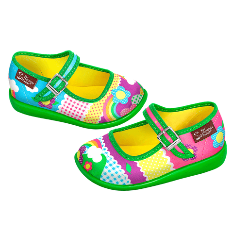 Mini Chocolaticas® Kinder Girls Mary Jane Flat