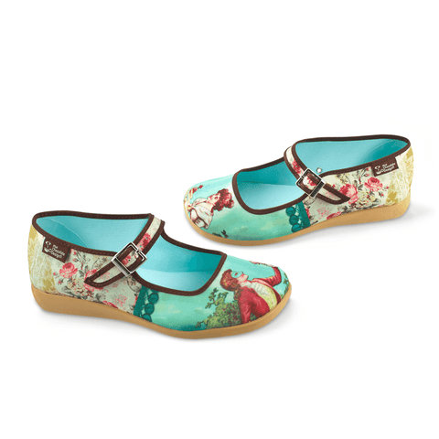 Chocolaticas® Poesia Cortesana Women's Mary Jane Flat