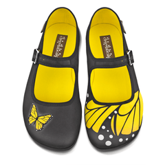 Chocolaticas® Butterfly Women's Mary Jane Flat