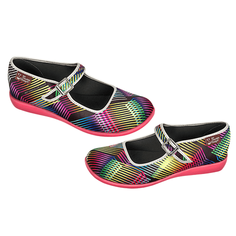 Chocolaticas® Kinetic Women's Mary Jane Flat