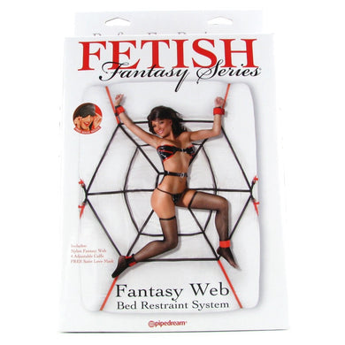 Fetish Fantasy Web Bed Restraint System(捆绑套装)