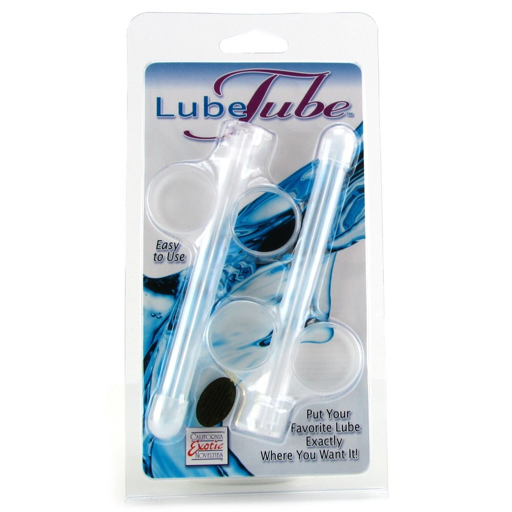 Lube Tube Applicator 2 Pack in Clear(冲洗器➕润滑液补充器)