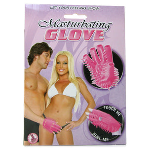 Masturbating Glove in Pink