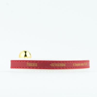 Personalised Cat Collar Kitten Kitty ID Standard Ancol Elasticated Felt Backed Engraved - National Engraver