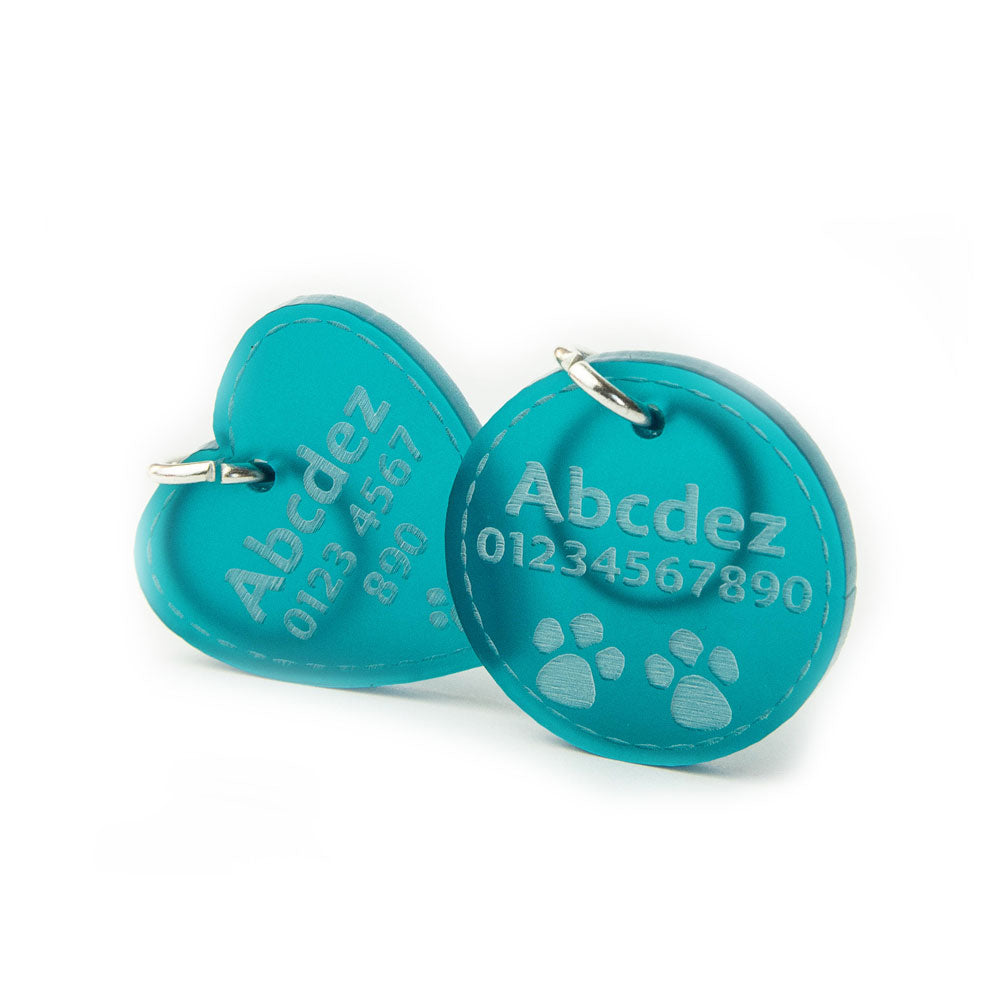 Dog Tags Cat Name Tag Luxury Personalised Engraved Pet ID