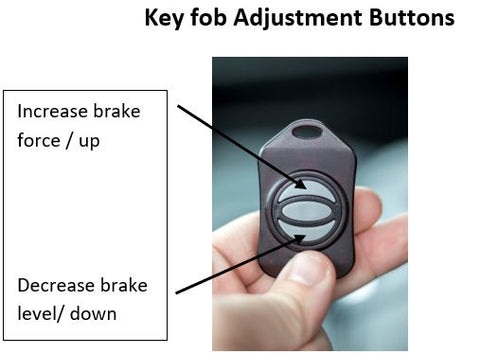 Key Fob Adjustment Buttons