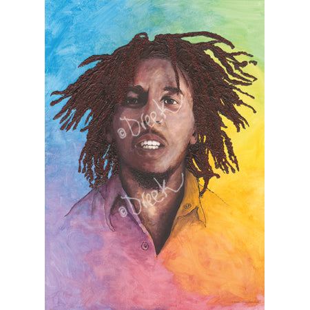 Bob Marley 'lively yourself up'